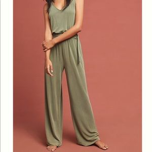 Peregrinate Belted Jumpsuit (Anthropologie)
